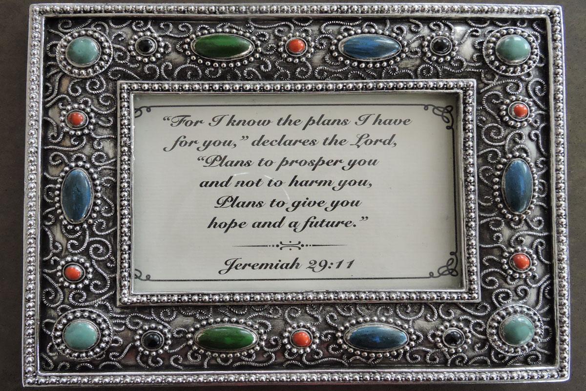 Jeremiah 29 11 at 72