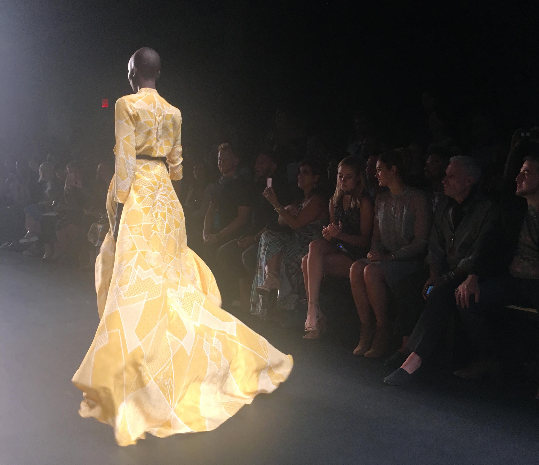 yellow dress e